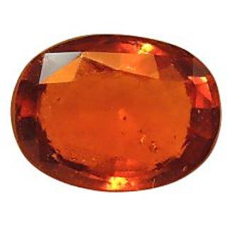 Gomed (Hessonite) Cts. 4.85 Ratti 5.33 With Freebie Five Mukhi Rudraksha
