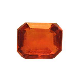 Gomed (Hessonite) Cts. 3.88 Ratti 4.26 With Freebie Five Mukhi Rudraksha