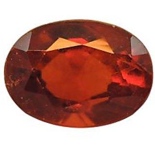 Gomed (Hessonite) Cts. 4.33 Ratti 4.76 With Freebie Five Mukhi Rudraksha