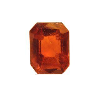 Gomed (Hessonite) Cts. 3.86 Ratti 4.24 With Freebie Five Mukhi Rudraksha