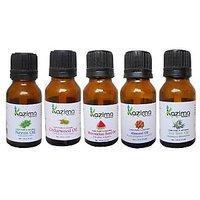 Combo-Neem, Cedarwood, Almond, Watermelon & Tea Tree Oil-Skin Benefits-By Kazima