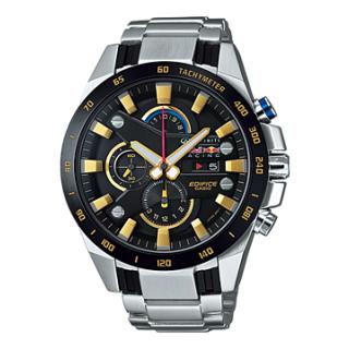 Casio Edifice Chronograph Black Dial Men's Watch - EFR-540RB-1AVDF(EX214)