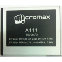 High Quality Battery For Micromax Canvas Doodle A111- 3000 MAh - 75255408