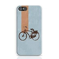 Retro Bicycle Phone Case For Apple Iphone 4S And Iphone 4