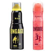 Engage    Deo (Urge, Blush) Pack Of 2- 165ml Each  Male  Female