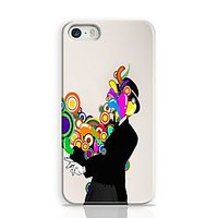 Rings Coming Out Of Man Phone Case For Apple Iphone 5S And Iphone 5