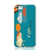 Life Is A Journey Phone Case For Apple Iphone 5S And Iphone 5