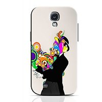 Rings Coming Out Of Man Phone Case For Samsung Galaxy S4