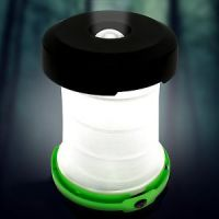 Multicoloured Flashlight Lantern Pop-up Ultralight Flashlight And Lantern In One