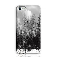 Winter Black And White Phone Case For Apple Iphone 5S And Iphone 5 I5C1282