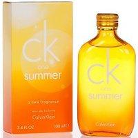 CK One Summer By Calvin Klein EDT Unisex (for MEN And Women) 100ml 3.4 Fl.OZ.