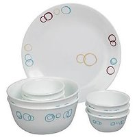 Corelle Essential Series Circle 14 Pcs Dinner Set