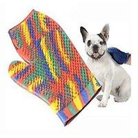 Dog Bath Glove, Colorful Bath Glove For Pet Dog