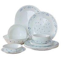 Corelle Essential Series Provincial Blue 21 Pcs Dinner Set