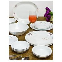 Corelle Essential Series Circle 21 Pcs Dinner Set