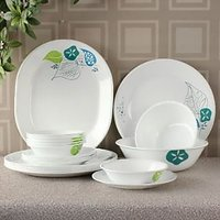 Corelle India Collection Foliage 21 Pcs Dinner Set