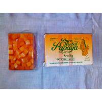 PURE HERBAL PAPAYA FRUITY SOAP 4 IN 1 SKIN WHITENING SOAP