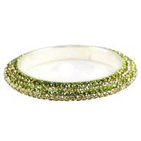 Pair Of Stunning Olive Green And Golden Bangles For The Traditional Touch (K16RJ01017LPPOG2.8)