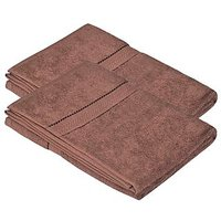 Pipal Hand Towel Set Of 2 Pcs Brown