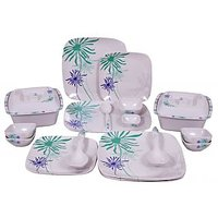 Impulse & Candid Melamine Dinner Set Of 37 Pcs