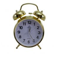 Old Stylish Vintage Retro Style Metal Body Double Twin Bell Alarm Clock
