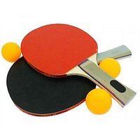 Table Tennis Ping Pong Set ( 2 Bats + 2 Balls)