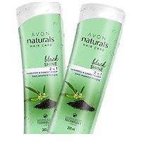 Avon Naturals Black Shine 2 In 1 Shampoo & Conditioner