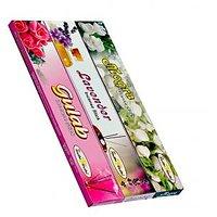 Pack Of 12 Box Agarbatties 240 Incese Sticks (4Mogra+2Lavander+6Gulab)