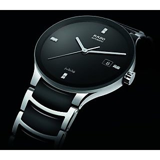 Rado Jubile Black Ceramic Mens Watch