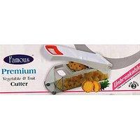 FAMOUS PREMIUM VEGETABLE & FRUIT CUTTER CHOPPER NICER DICER CHIPSER ONION CUTTER