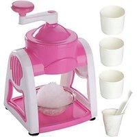 Radhe Gola & Slush Maker Manual Operated Plastic Body Ice Gola Maker - 75783808