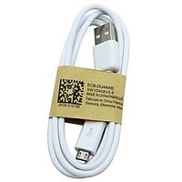 Set Of 2 Samsung USB Data Cable - White/Black