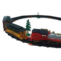 Battery Operated Toy Train Set For Kids 27 PC/ Train With Sound And Light