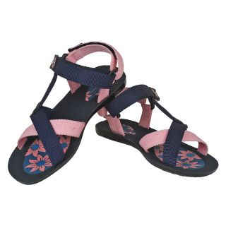 Oricum Women's Pink & Blue Floaters