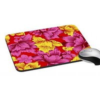MeSleep Multi Colored Leaves  Mouse Pad