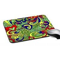 MeSleep Multi Colored Paisley  Mouse Pad