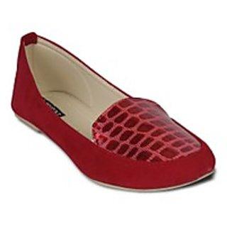 TEN Enchanting Women'S Red Loafers