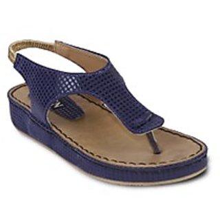 TEN Refined Blue Sandals