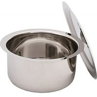 Stainless Steel Round Bottom Tope Set With Lids