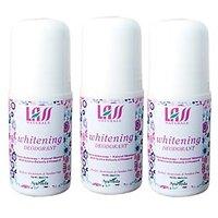 Pack Of 3 Lass Naturals Lass Underarm Whitening Deodorant For Women