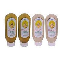 Divine Love - Ayurvedic  Shampoo And Conditioner - 200 Ml - Pack Of 4