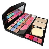 T Y A Make-UP Kit With 17 Eye Shadow 2 Compact And 4 Lip Color And 2 Blusher