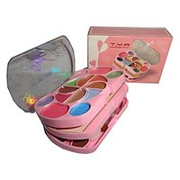 T Y A Make-UP Kit With 14 Eye  Shadow 2 Compact And 6 Lip Color