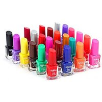 Foolzy Pack Of 24 Different Nail Polish Paint