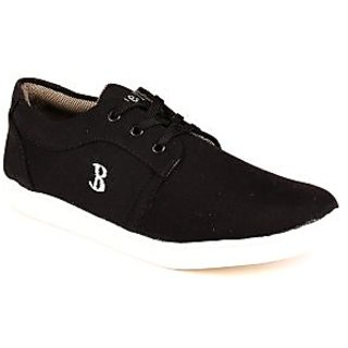 Blue-tuff Mens Trendy Black Casual Shoes BT 201
