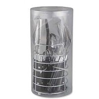 Premium Quality 24pc Cutlery Set With Holder Stand (T0109)