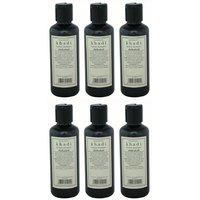 Khadi Herbal Shikakai Shampoo - Combo (Pack Of 6)