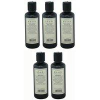 Hair Shampoo - Herbal Shikakai Shampoo - Combo Pack Of 5 - By Khadi