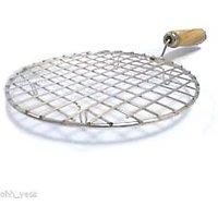 Stainless Steel Multipurpose Gas Roaster Grill - Papad Paneer Tikka Chicken Roti - 77529120