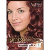 Impression Burgundy Henna Based Hair Colour (60g)